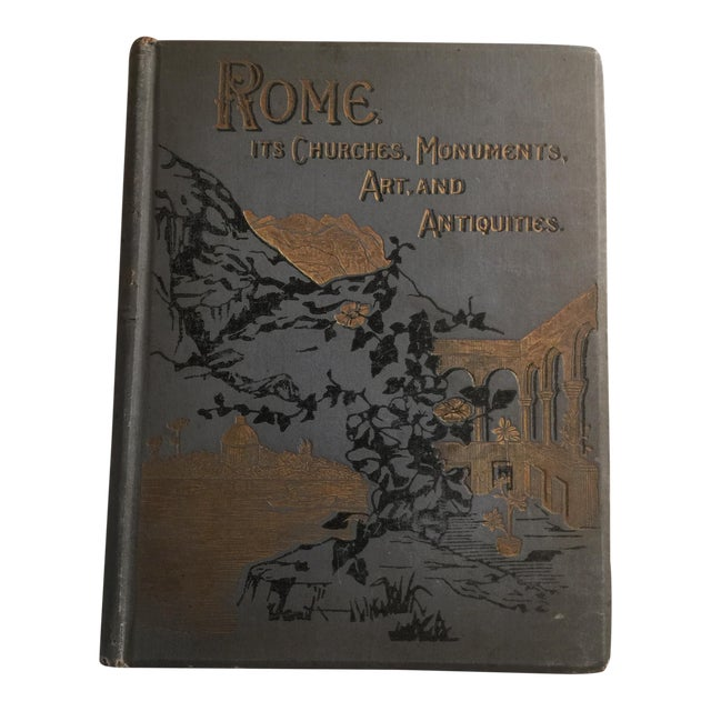 Rome - Its Churches, Monuments, Art, and Antiquities Book For Sale