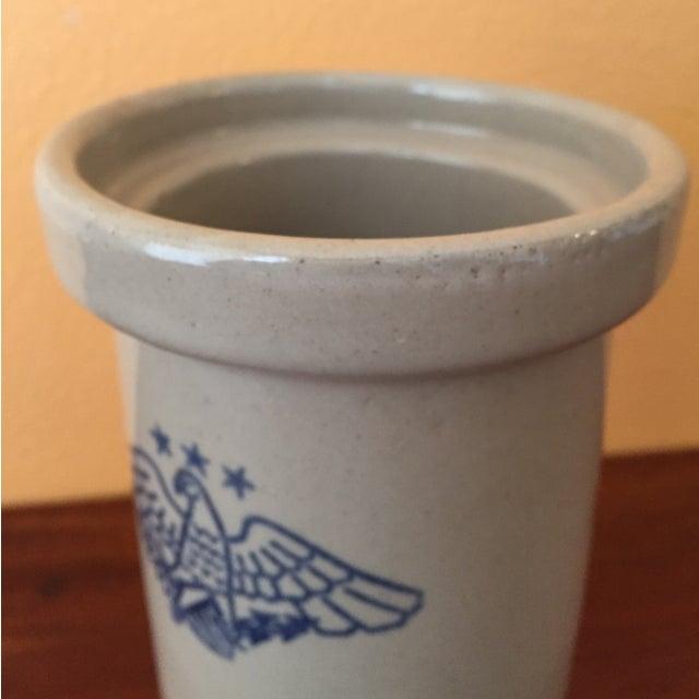 Vintage American Eagle Salt Glaze Crock - Image 5 of 9