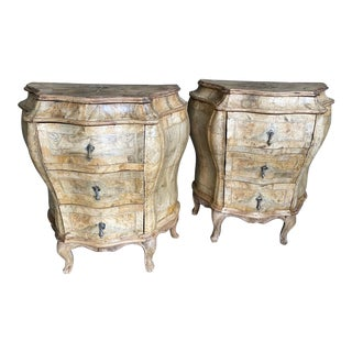 19th Century Venetian Side Chests - a Pair For Sale