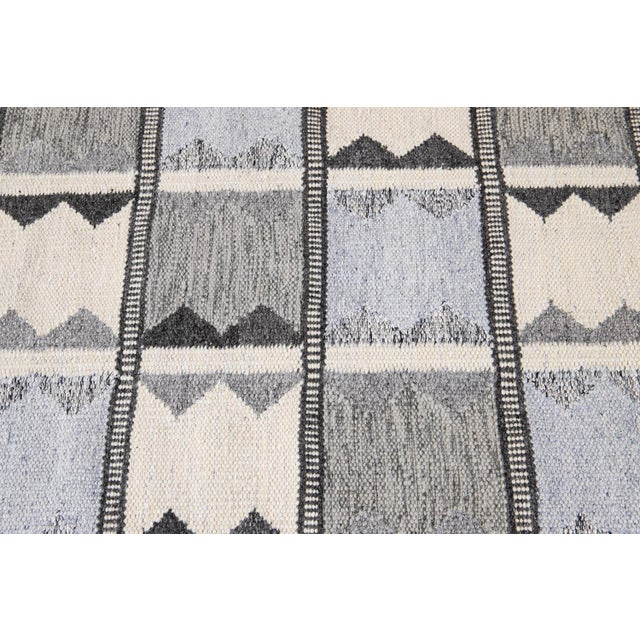 21st Century Contemporary Swedish Style Runner Rug, 3' X 12' For Sale - Image 4 of 11