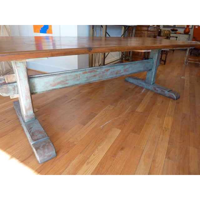 19th Century Scandinavian Trestle Table For Sale In Washington DC - Image 6 of 8