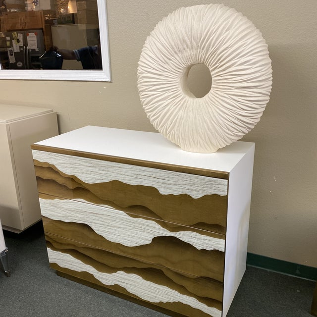 Contemporary New Phillips Collection Waves Circle Vase For Sale - Image 3 of 12