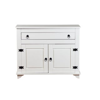 Lisa 2 Door White Cabinet Sideboard