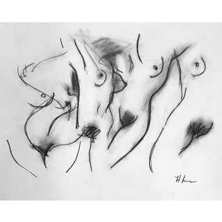 Woman Four I Drawing by Heidi Lanino For Sale