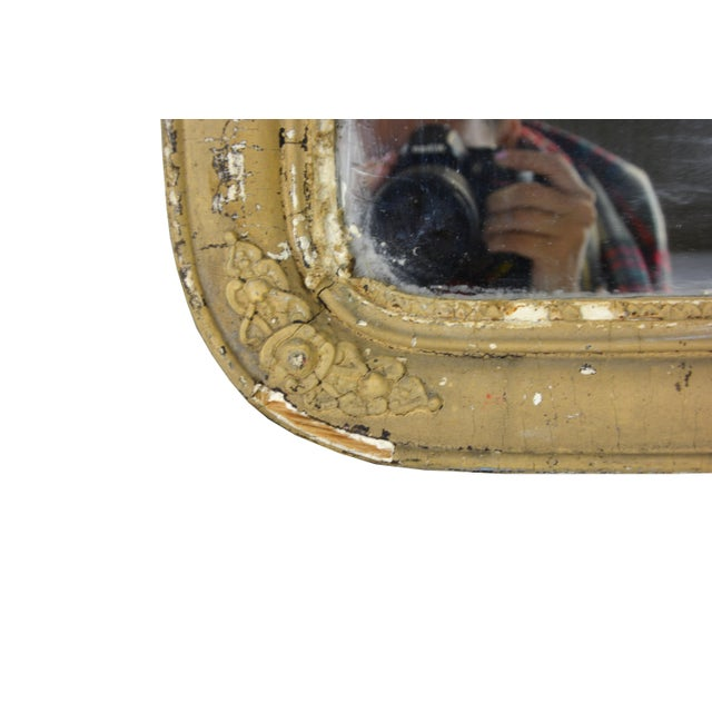 Antique Arched Accent Mirror - Image 2 of 4