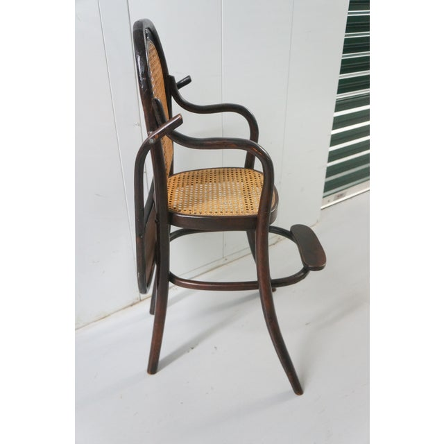 Bentwood Early 20th Century Antique Children's Bentwood Highchair For Sale  - Image 7 ... - Early 20th Century Antique Children's Bentwood Highchair Chairish