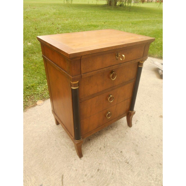 Vintage Baker Furniture Nightstand For Sale - Image 6 of 8