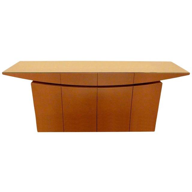 Modern Buffet or Sideboard by Moca For Sale