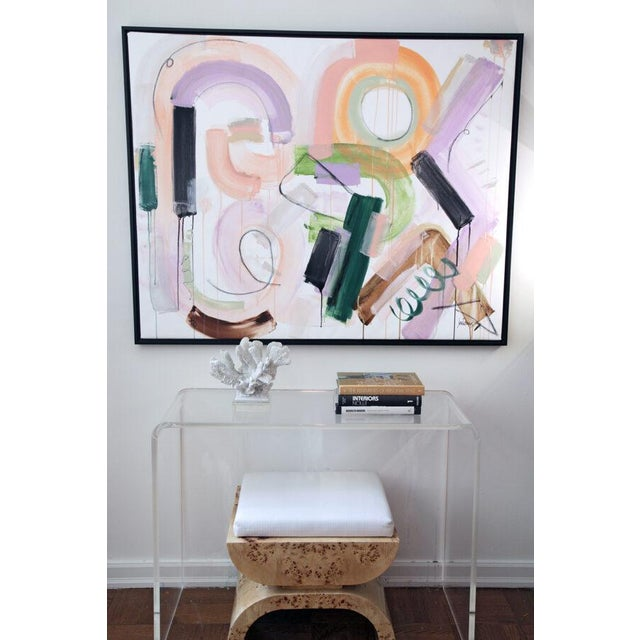"""Original Abstract Painting by Jen Ramos, """"Pistol & Jewels 1"""" For Sale In New York - Image 6 of 10"""