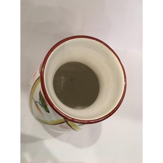 Italian Majolica Donkey Vase - Image 6 of 11
