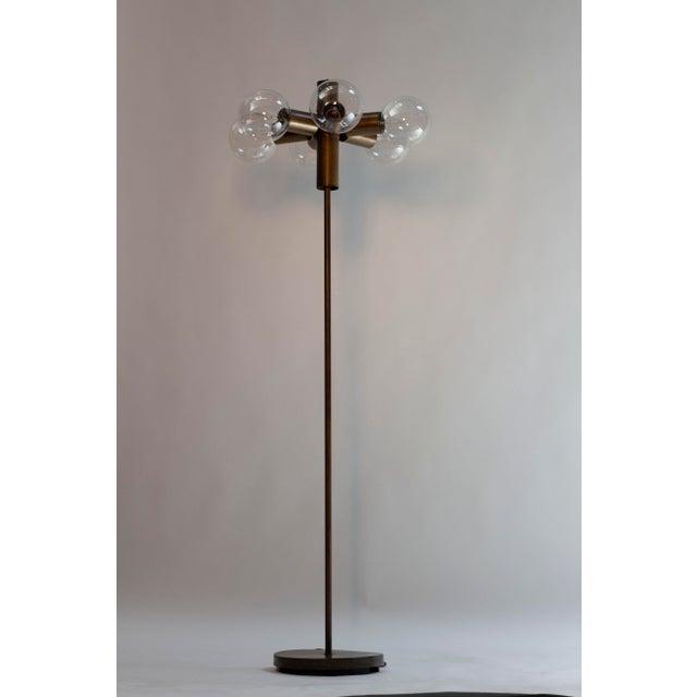 Mid-Century Modern Satelite Style Floor Lamp For Sale - Image 3 of 3