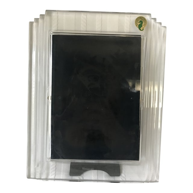 Contemporary Metropolitan Waterford Crystal Picture Frame For Sale