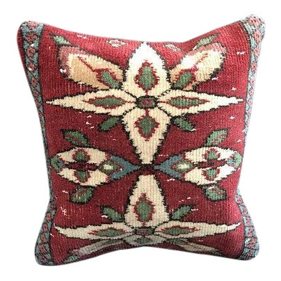 Colorful Turkish Wool Bohemian Pillow Cover For Sale