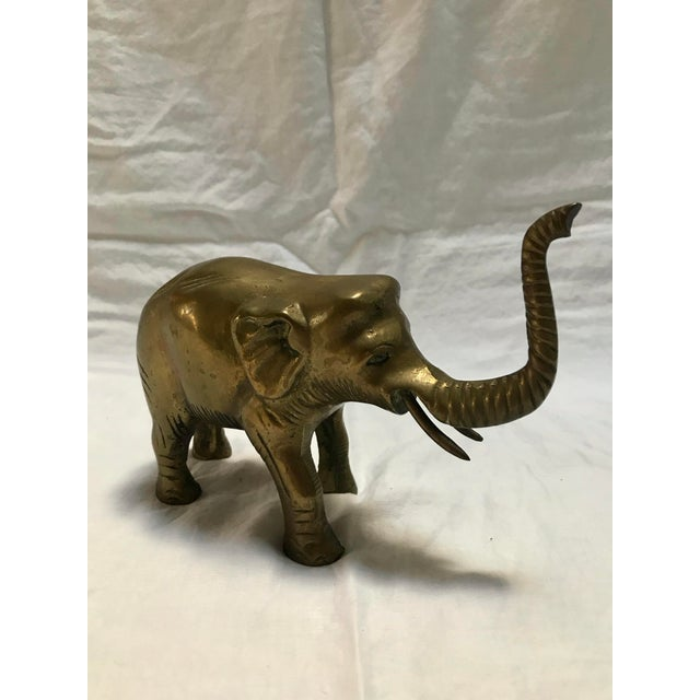 Brass Elephant For Sale - Image 4 of 7
