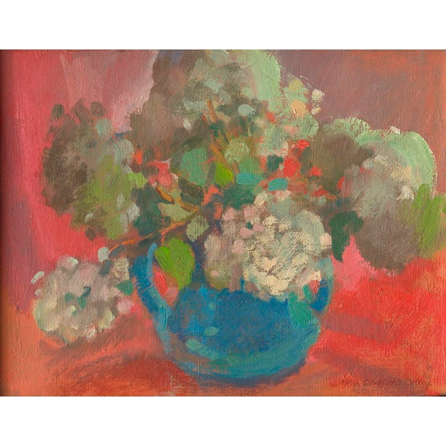 """""""Donna's Hydrangeas"""" Floral Still Life Print by Amy Griffith Colley For Sale"""