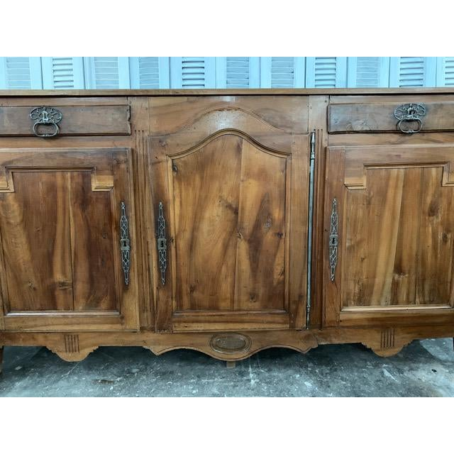 French Provincial 18th Century French Provincial Buffet For Sale - Image 3 of 9