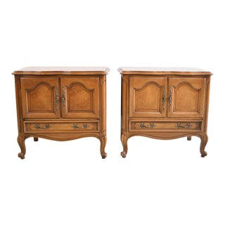 19th Century French Provincial Century Furntiure Side Tables - a Pair For Sale