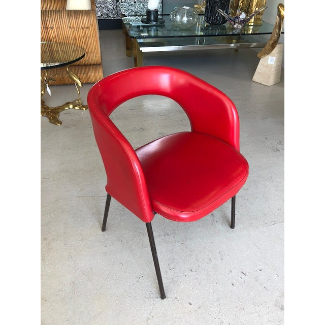 Mid-Century Modern Mid Century Chairs Attributed to Gastone Renaldi for Rima For Sale - Image 3 of 10