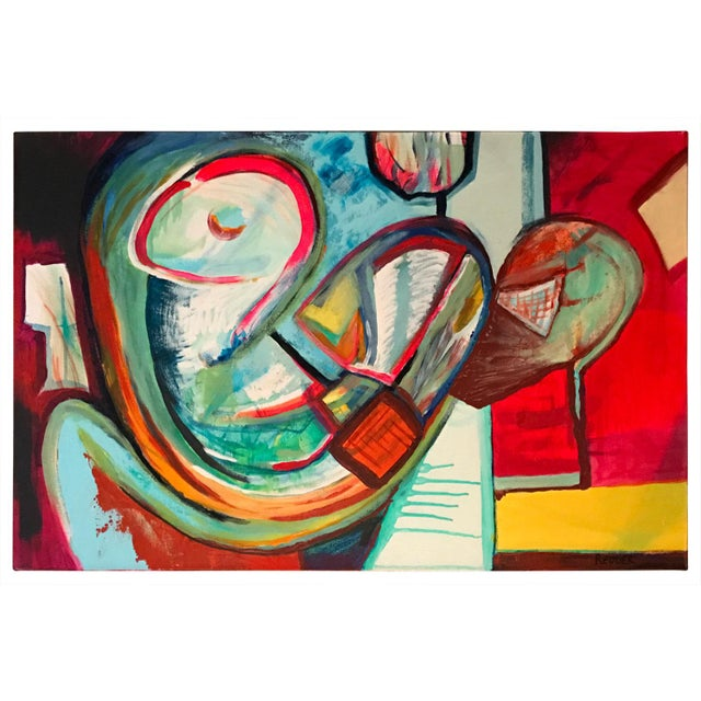 Abstract Contemporary Painting by Maxwell Redder For Sale - Image 3 of 7