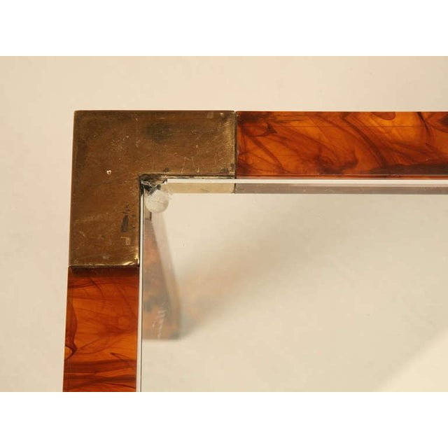 Circa 1960s Faux Tortoise Shell Coffee Table For Sale - Image 4 of 10