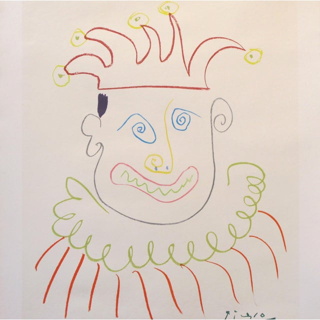 Date: 1966 Size: 29.5 х 19.5 inches A beautiful 1966 exhibition poster featuring the work of Pablo Picasso. This poster...