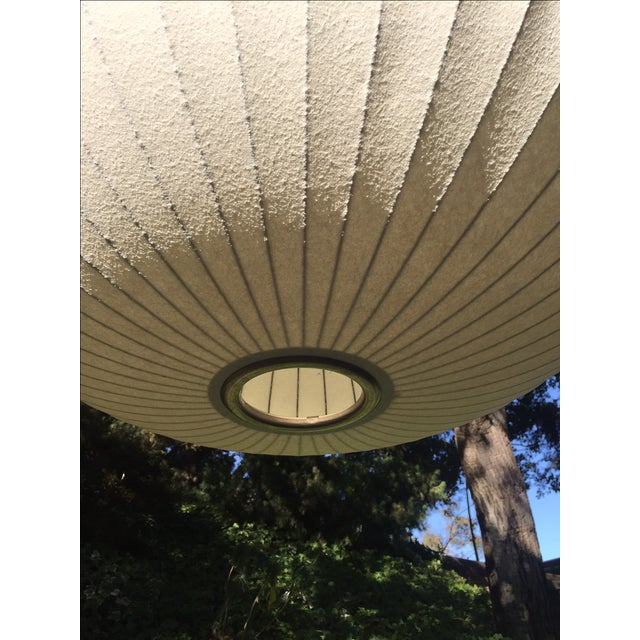 George Nelson Saucer Bubble Pendant Lamp - Image 3 of 7