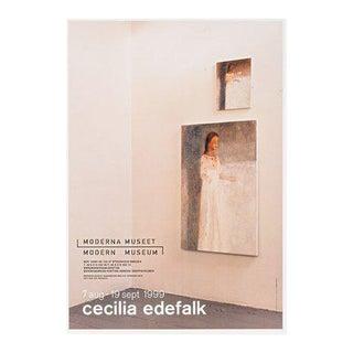 1999 Cecilia Edefalk Elevator - Moderna Museet Exhibition Poster For Sale