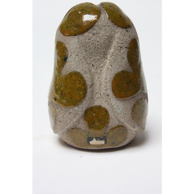 Charming Swedish Modern Ceramic Dog Figurine by Thomas Hellström for Nittsjö Keramik For Sale - Image 9 of 13