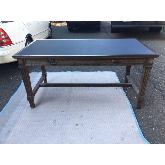 2000s Rustic David Iatesta Coco Desk For Sale - Image 5 of 5