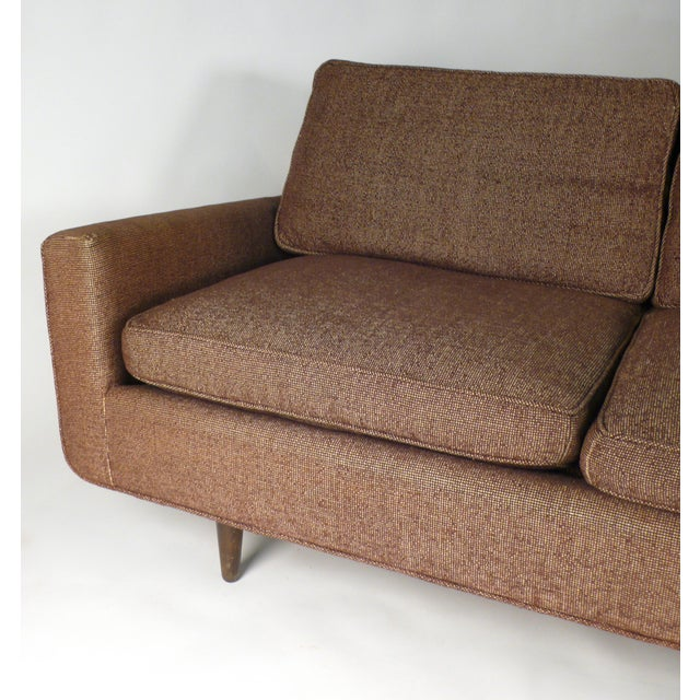 Early Florence Knoll Down-Filled Sofa For Sale In Dallas - Image 6 of 7