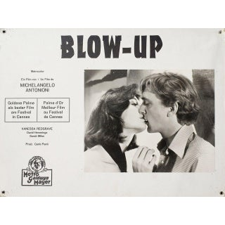 Blow-Up 1968 Swiss Scene Card For Sale