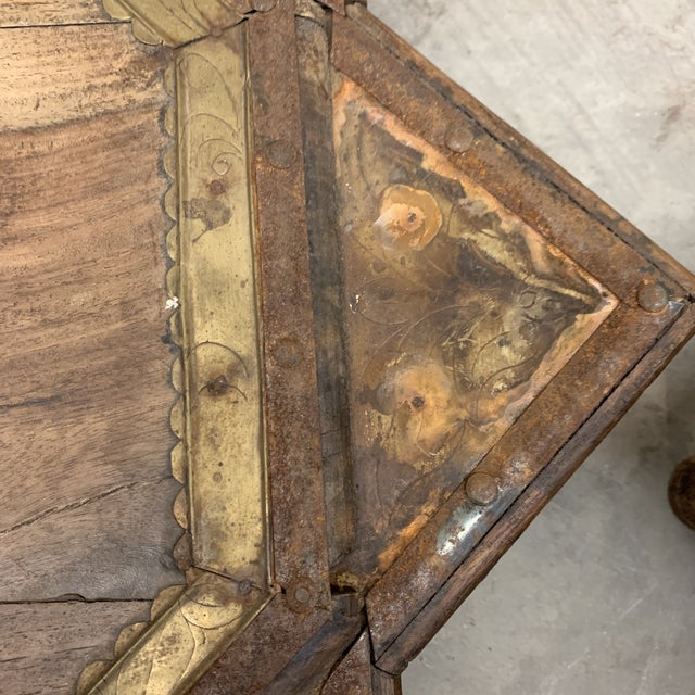 Vintage Moroccan Star Stacking Tables For Sale - Image 9 of 12