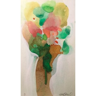 """""""Ice Cream Tree"""" Watercolor Painting For Sale"""