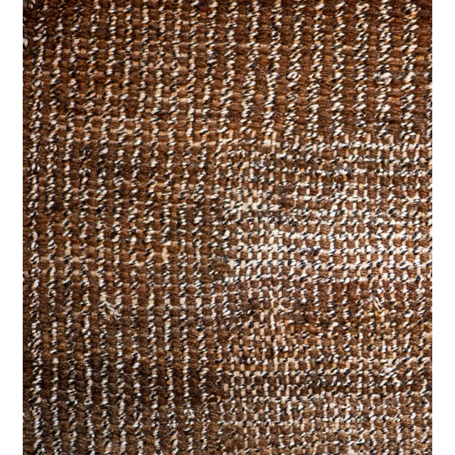 Turkish 1980s Handwoven Wool Turkish Flatweave Rug For Sale - Image 3 of 6