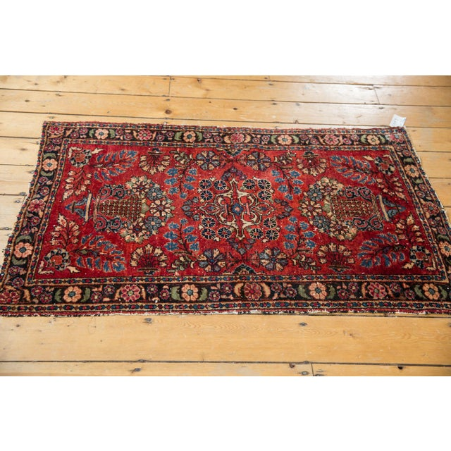 "Vintage Lilihan Rug - 2'8"" X 4'5"" For Sale - Image 11 of 12"