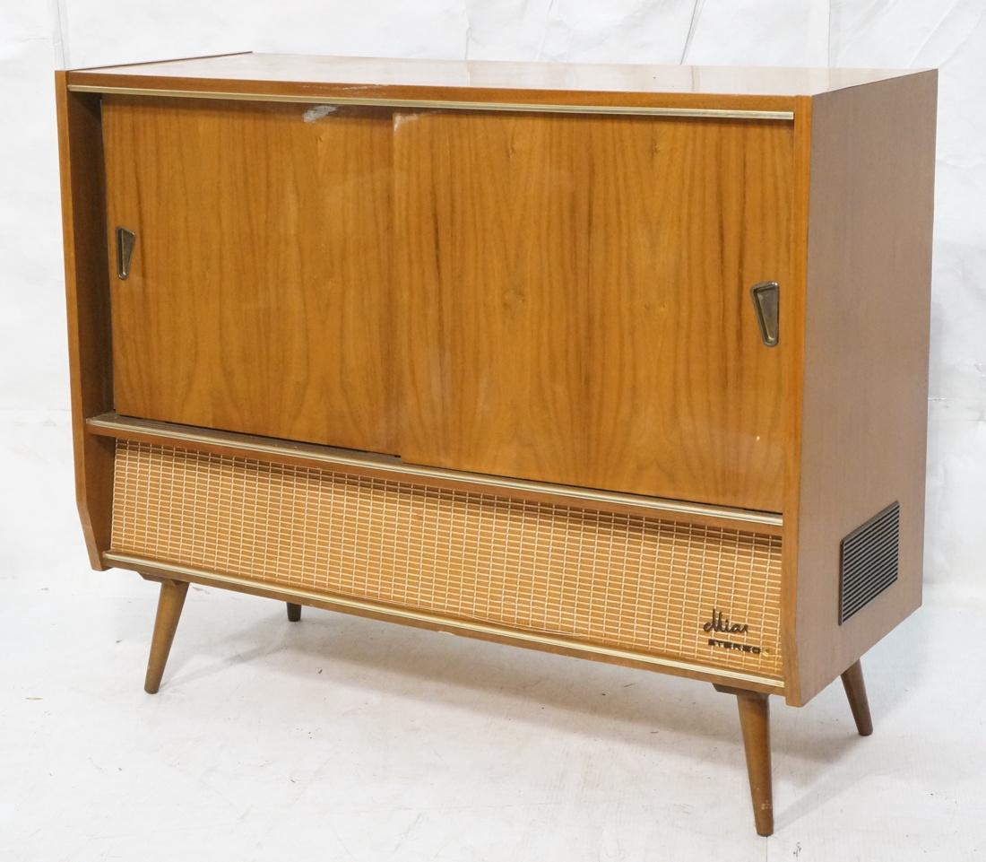 Modern MIA Stereo Cabinet Blaupunkt Radio Receiver, Circa 1960   Image 2 Of  9