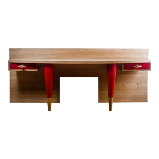 Console Desk by Olivier Gagnère for Néotù, Piece Unique, France, 1993