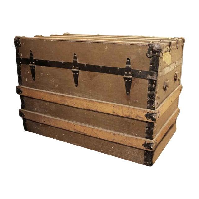 Pine Storage Trunk - Image 1 of 10