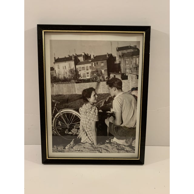 1990 Graphique de France Robert Doisneau Photo Reprint Offset Lithograph x 5 Featuring Photos of Love in the Streets of...