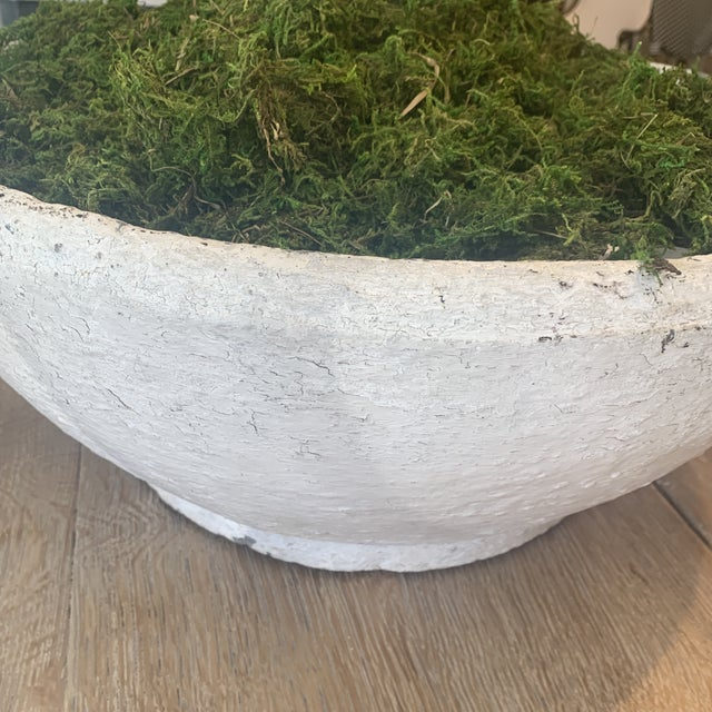 Concrete Vintage Concrete Bowl For Sale - Image 7 of 13