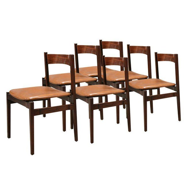 Six Gianfranco Frattini Chairs For Sale - Image 11 of 11