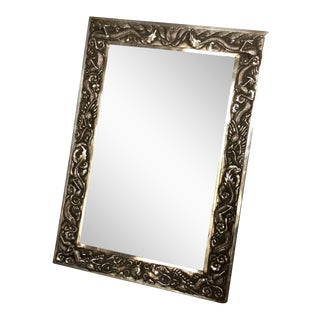 Antique Chinese Export Sterling Silver Frame For Sale