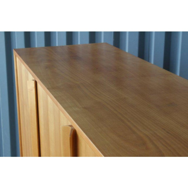 1960s Maple Highboard Credenza, Germany, 1960s For Sale - Image 5 of 13