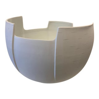 Abstracted Birch Bowl