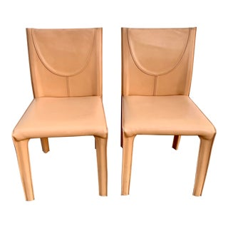 Vintage Arper Italian Chairs- a Pair For Sale
