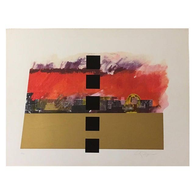 """Jerusalem Burns"" Serigraph by Dan Reisinger For Sale"