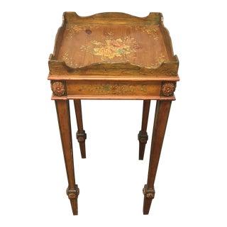 Sarreid Painted Pine Side Table