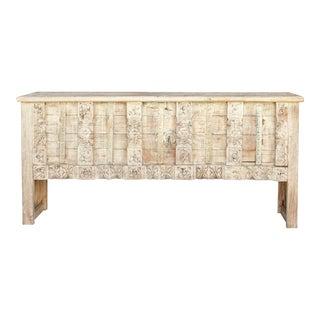 Rustic Sruti Trunk Style Console Table For Sale