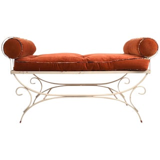 Wrought Iron Window Bench For Sale