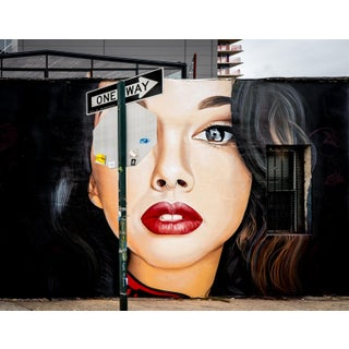 """Eyeful - Brooklyn"" Contemporary Street Art Photograph For Sale"